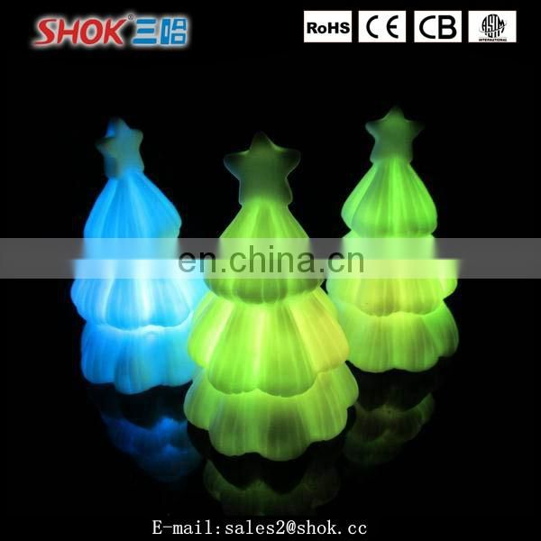 Wholesale low price plastic mood light rainbow color changing led night light
