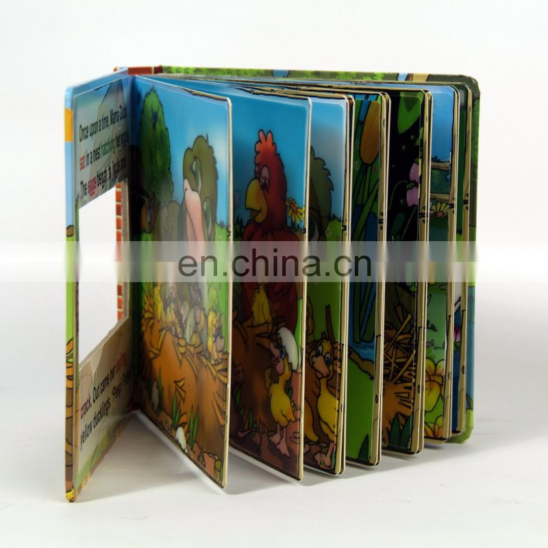 custom 3d magic book with high quality