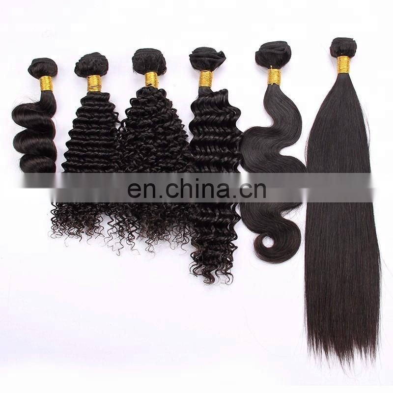 Permanent ombre color hair 1b 4 30 three tones human hair weaves