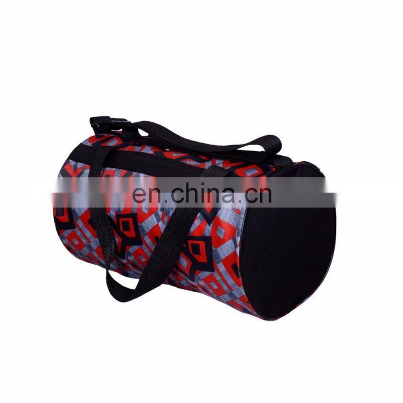 Logo Customized Outdoor Gym Cheap Polyester Duffle Gym Bag