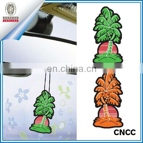 Cotton paper air freshener for car decoration
