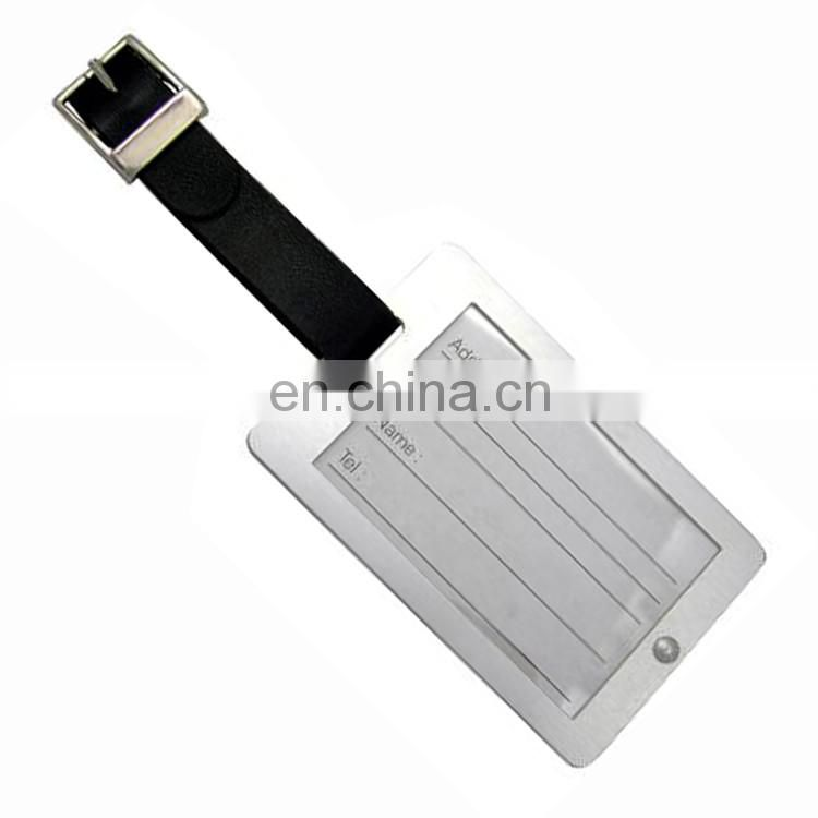 Good bulk leather luggage tags wedding favor