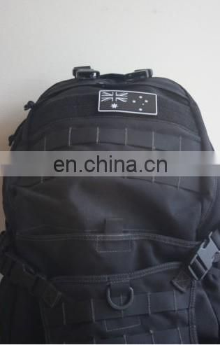 rubber patch soft brand name labels for backpacks and clothes