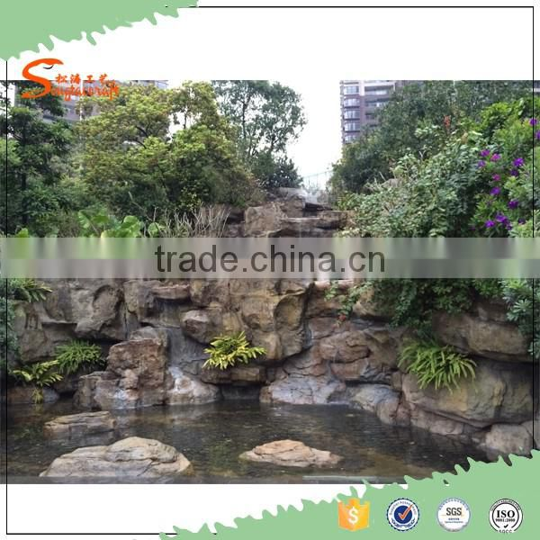 2016 New Product Garden Home Stone Water Fountain For Large Artificial Waterfall Outdoor Of Rockies From China
