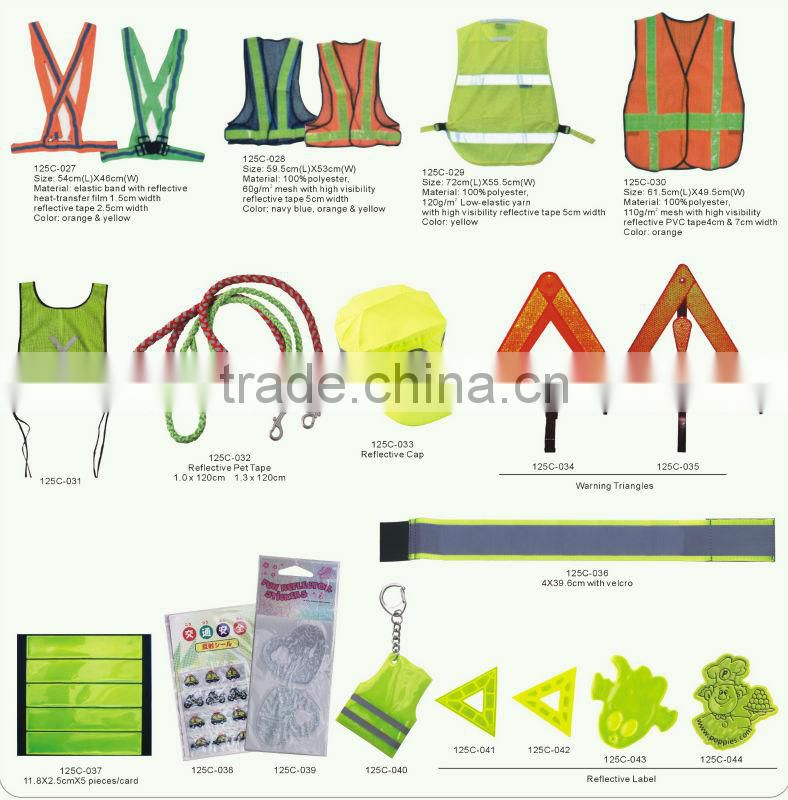 High Visibility clear reflective tape