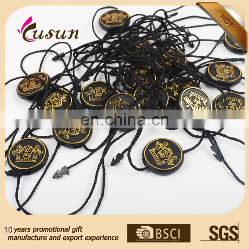 Colorful plastic Cotton string seal tag