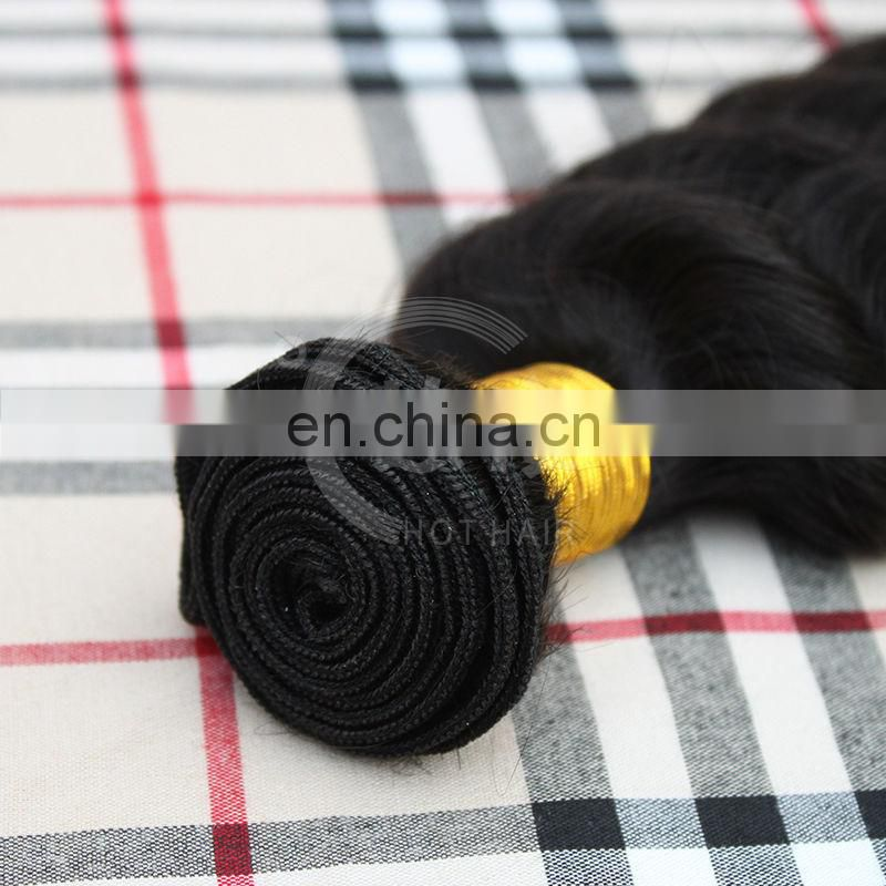 Hothair hot selling high quality virgin peruvian hair deepwave hair weave