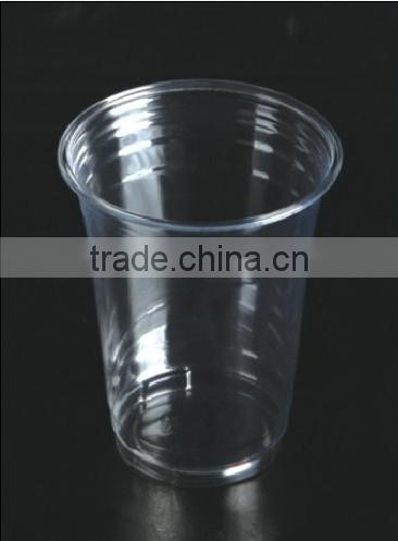 16oz/500mlHigh quanlity clear disposable beverage cup .ice cream cup. milk tea cup,shaved ice cup. eco-friendly plastic cup