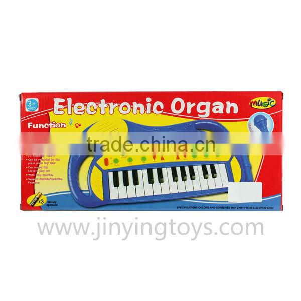 Musical instrument 25 keys electronic organ with microphone with EN71