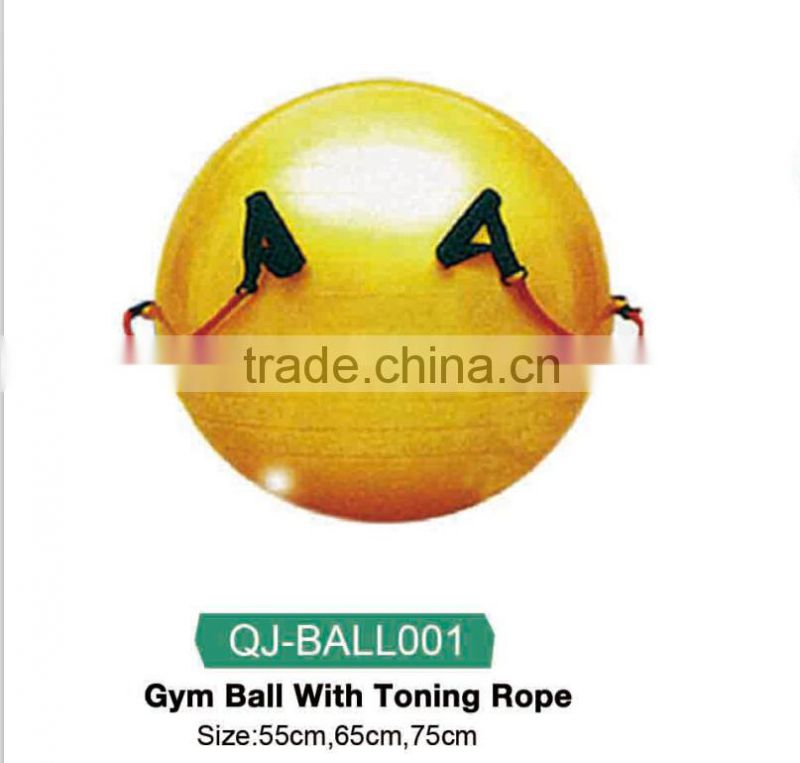 2015 hot sale promotion soft anti burst gym ball for health,fitness, & loose weight