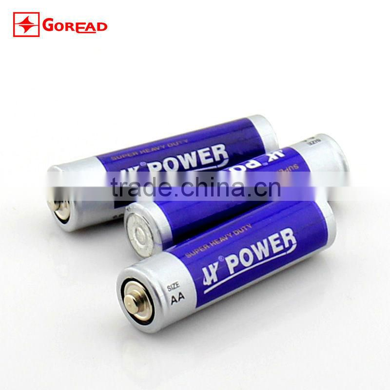 1.5V R6 HJ POWER zinc manganese AA battery