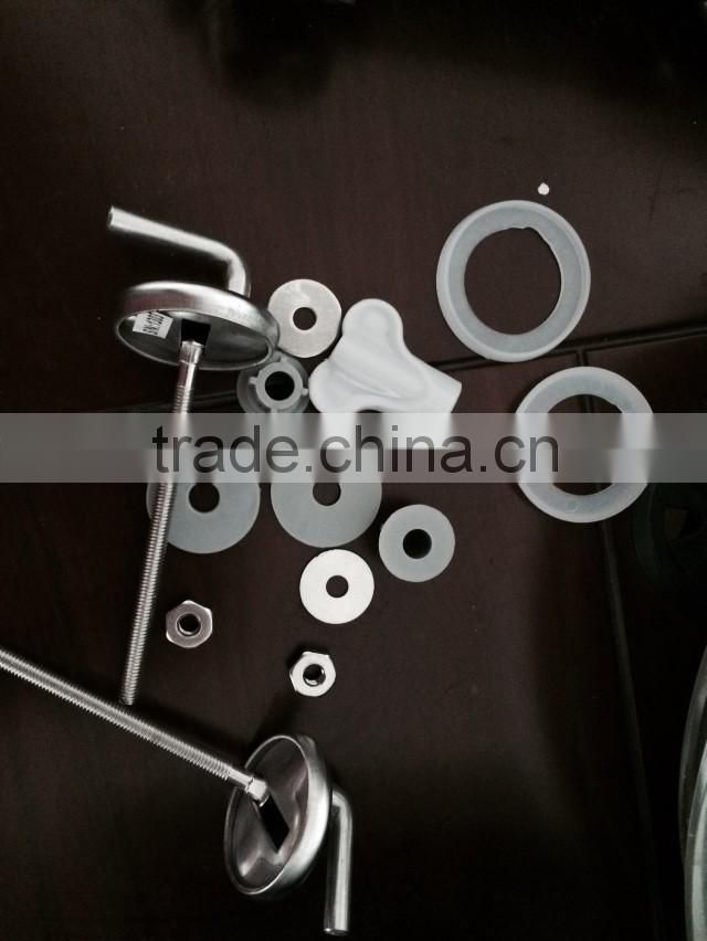 stainless steel 304 high quality toilet seat hinges