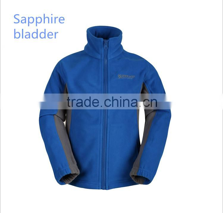 2016 high quality polar fleece jacket for children with logo autumn and winter outdoor fleece jackets