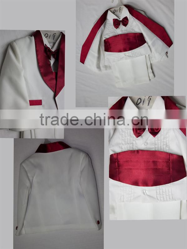 Professional cheap white baby tuxedos for wholesales