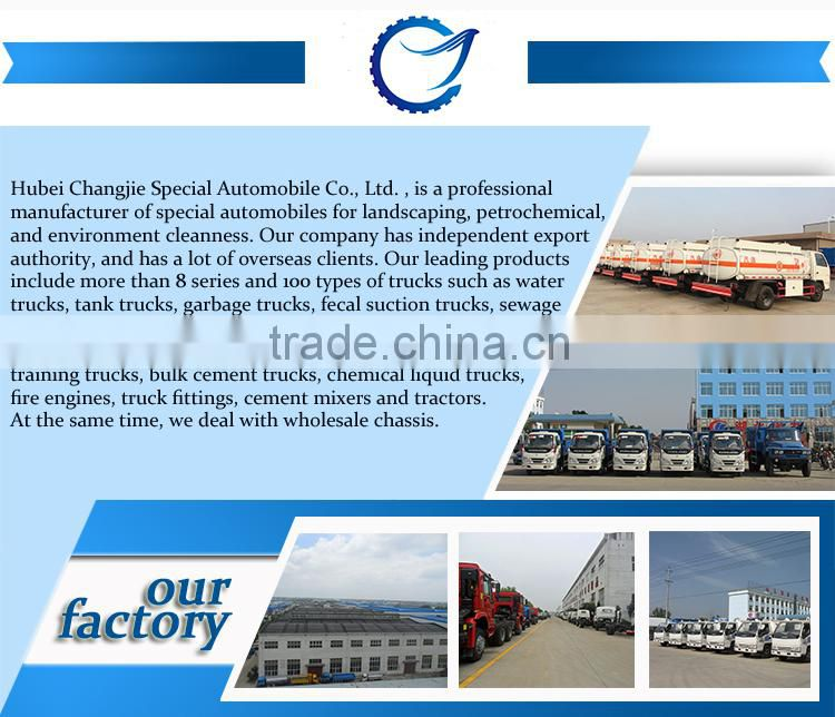 Quality 100% guaranteed customized for export 6x4 Dongfeng 25 3m3