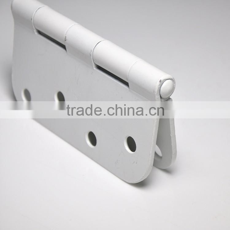 new product white plated type of door hinge for wooden box