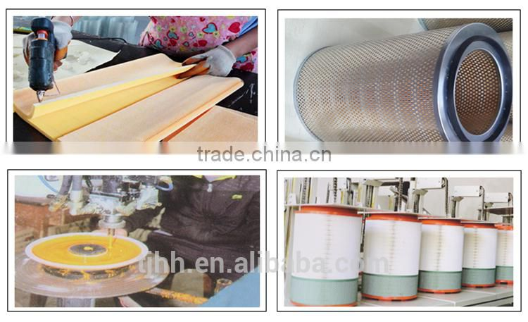 2015 hot selling car parts air filter 6110940004