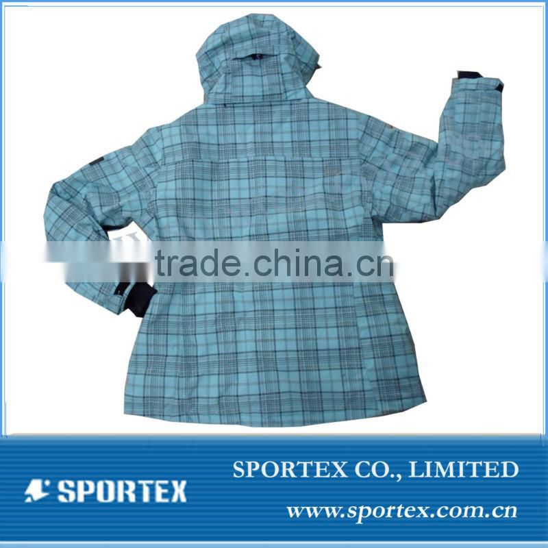 Mens Winter Hoody Ski Wear/Waterproof and Windproof Ski Jacket/Snow Wear