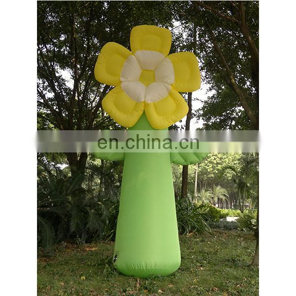 outdoor decoration inflatable flower for party or wedding sale