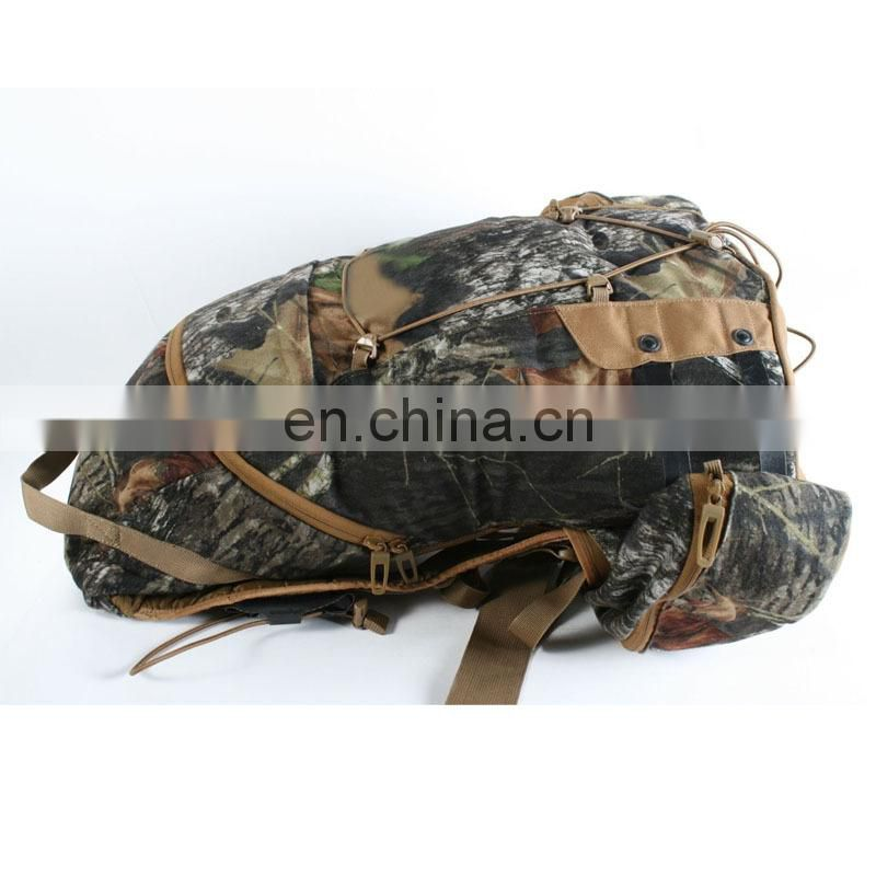 2016 vintage military pattern big backpack