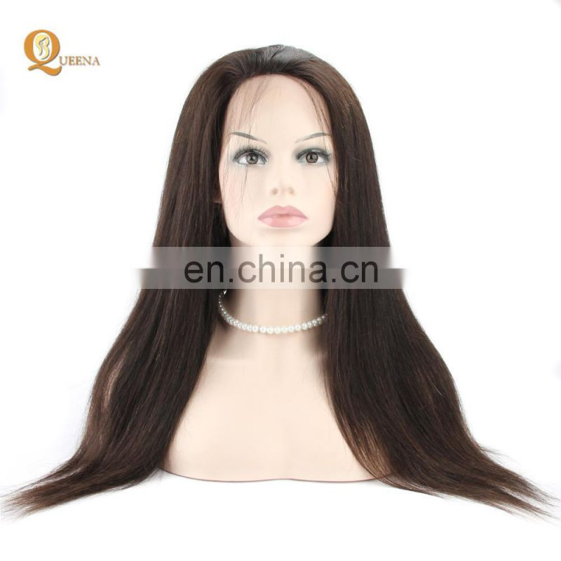 Human Hair UK Virgin 9A Malaysian Straight Hair 360 Lace Frontal Closure With Bundles