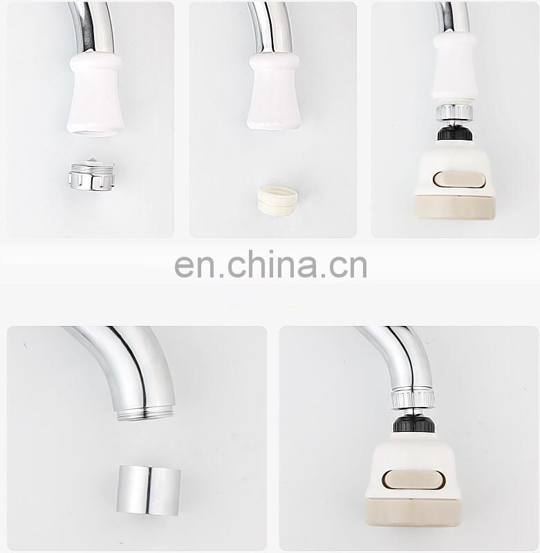 Water Filter Adapter Water Purifier Kitchen Faucet Nozzle Saving Tap Aerator Diffuser Kitchen Accessories with hose and connect