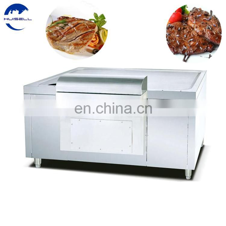 Commercial kitchen equipment Japanese snack machine electric cast iron griddle/japanese teppanyaki grills Image