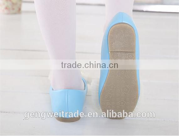2015 Spring kids shoes girl butterfly princess girl baby shoes kids pearls shoes