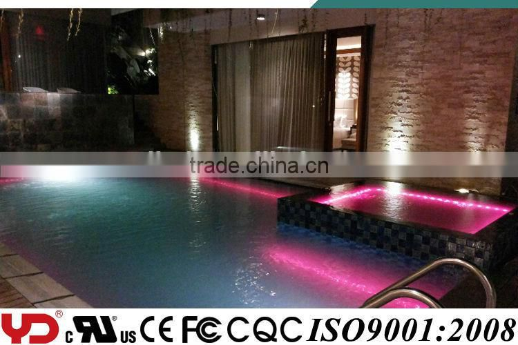 high quality waterproof underground led point light source full color control for swimming pool type