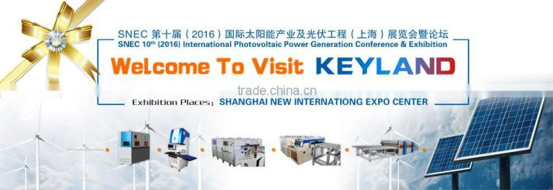 Keyland Solar Cells Laser Fiber Cutting Machine for Broken Solar Cells