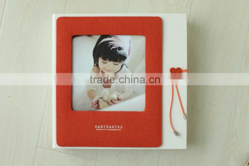 bulk buy from China fancty leather photo album cover