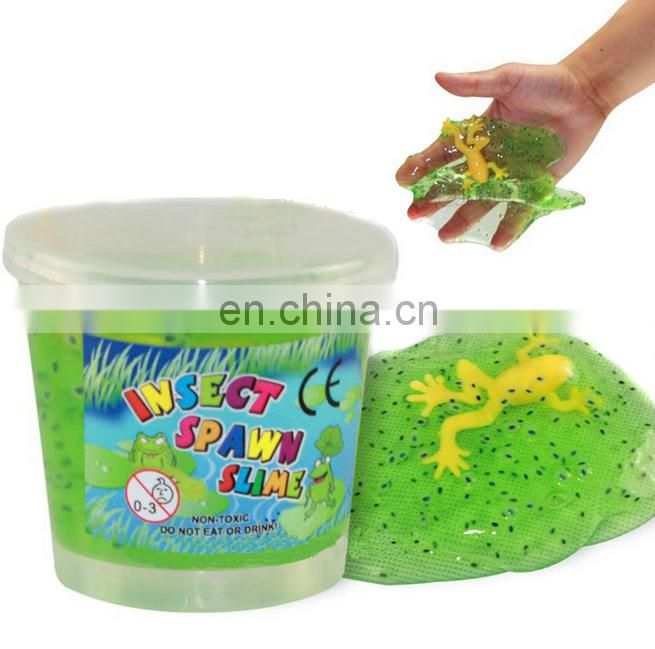 2016 hot animal toys frog spawnbaby soft slime toys