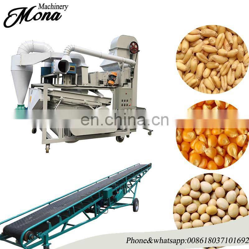 200 tons/day soybeans seed cleaner for soybeans sesame sunflower seedcleaning machine