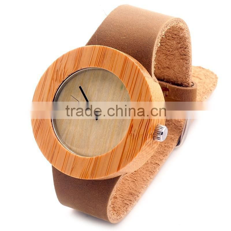 2016 New style smart watch&wooden watch& watches men Japanese movement