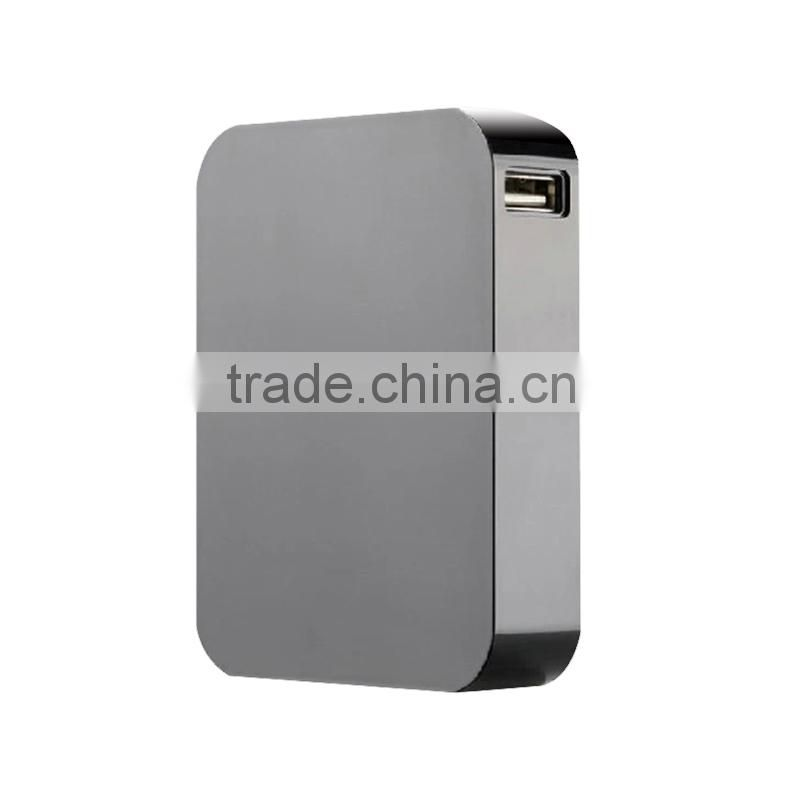 High capacity 10400mah power bank with led charge indicator