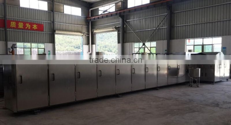 Automatic Flat Mouth Ice Cream Sugar Cone Making Machine Line/Gas Rolled Sugar Cone Maker Equipment