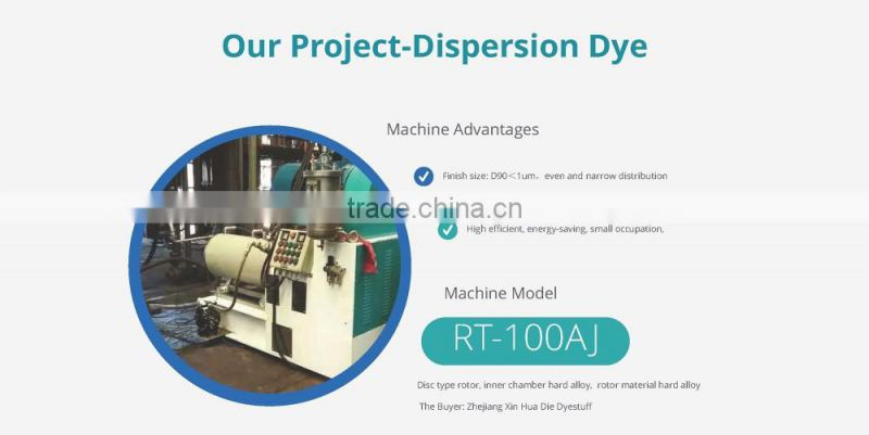 100l horizontal bead grinder for pigment paste production