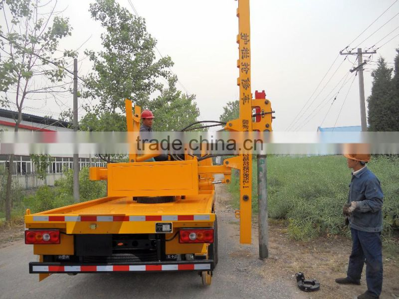 NJJ5061TQX5 Truck-Mounted Rotary Piling Machine with