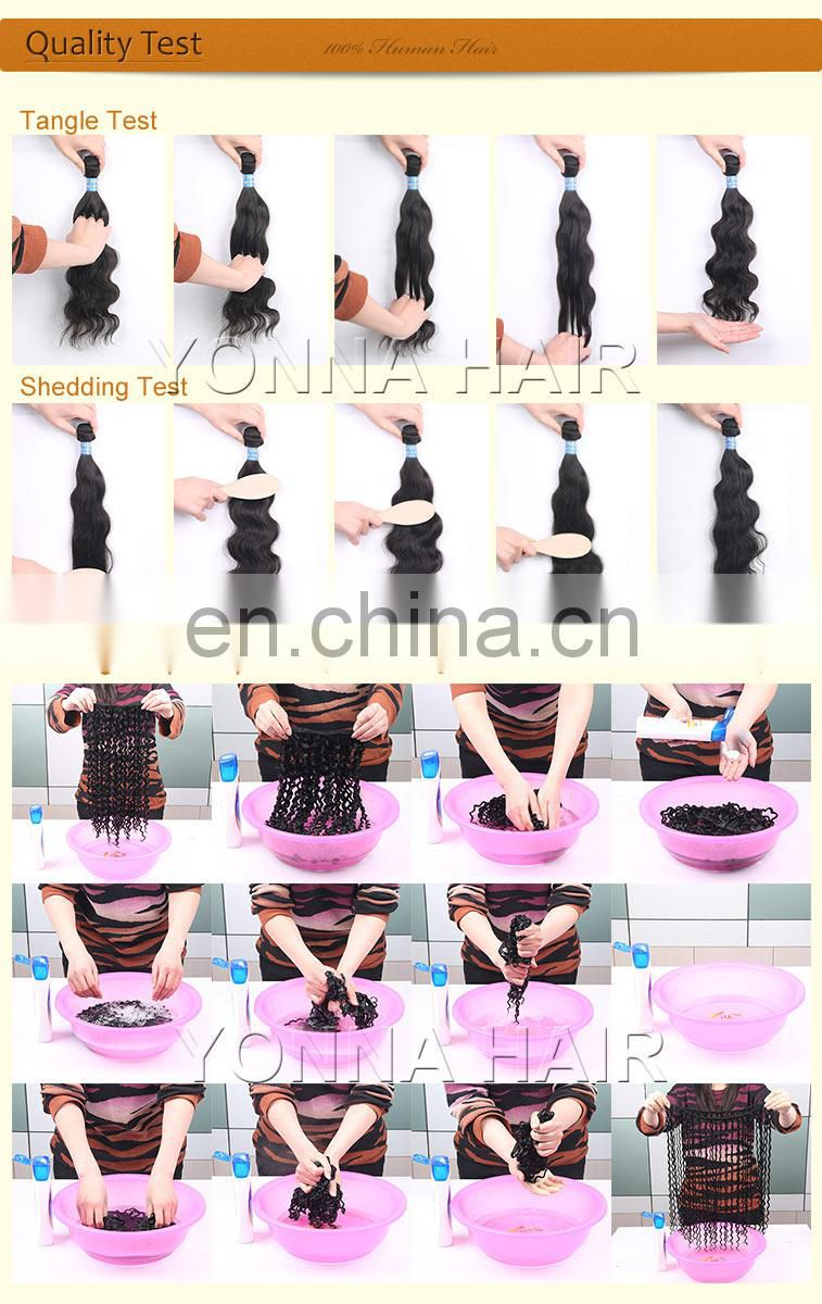 Top quality Natural Color 100% Virgin Body Wave Brazilian Human Hair Weave Bundles