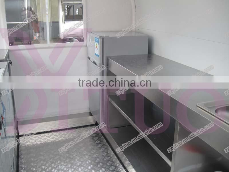 High quality multifunction mobile food cart made in China with low price