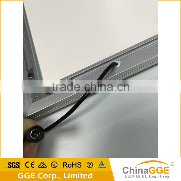 LED aluminum extrusion profile shadow box frames wholesale light box ...