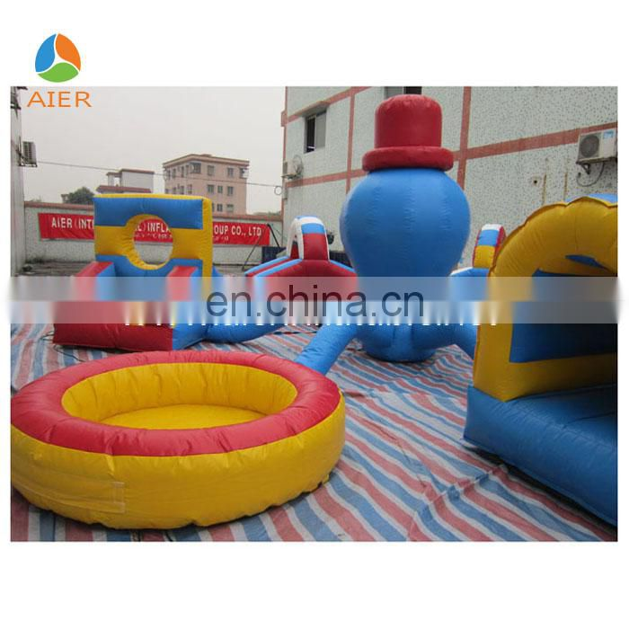 China Newly & Cutely Octopus Inflatable funland playground,jumping bouncer