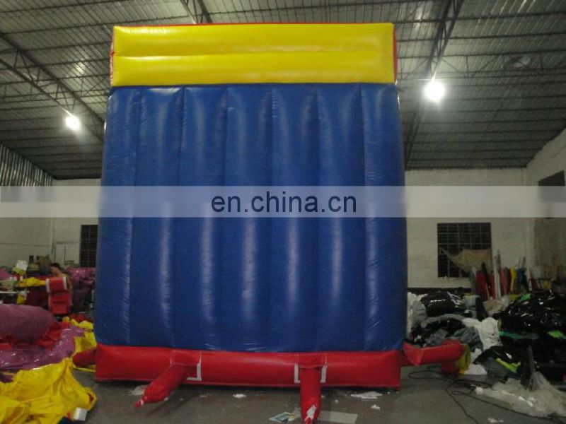 China Cheap Price CE Customzied Design Hot Sale Kids Indoor Inflatable water rock Climbing wall
