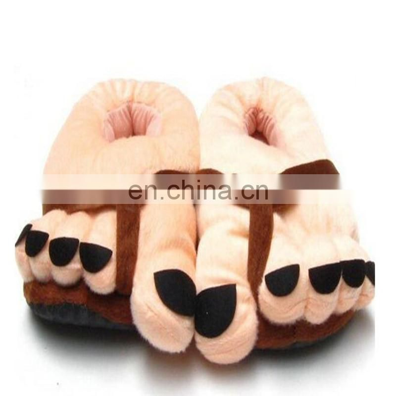 halloween slippers alloween animal plush toy Quality Plush Toys/Stuffed Doll Hallowmas Gift cartoon animmal slippers toy