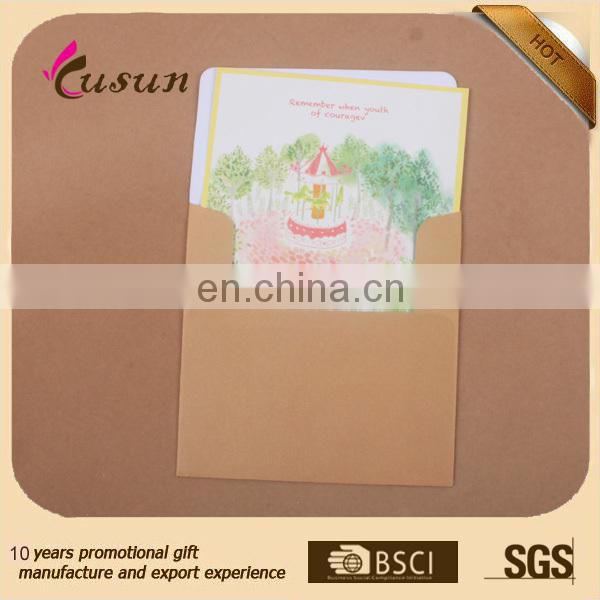 Brief Blessing Greeting Card for best wishes