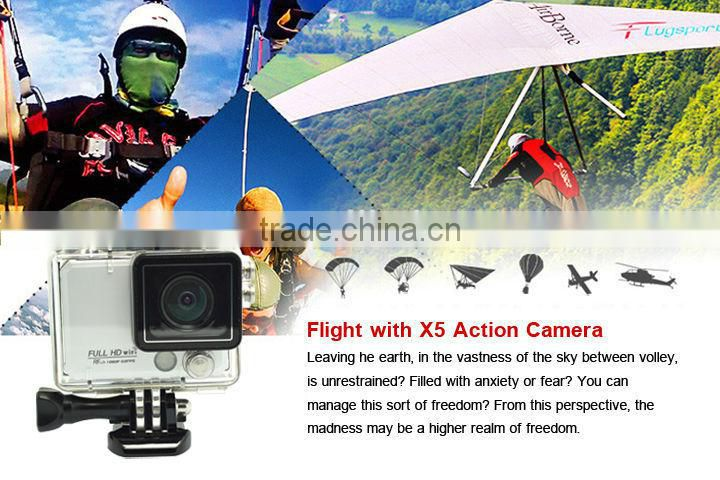 Wireless Control Action Camera Diving Full HD WiFi DVR DV 50M Deep Waterproof extreme Sport Helmet 4K
