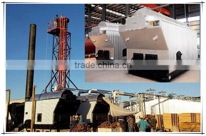 coal/biomass/wood/rice husk/straw boiler to generate steam