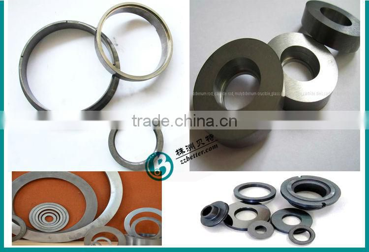 Cermet seal rings for Oil use