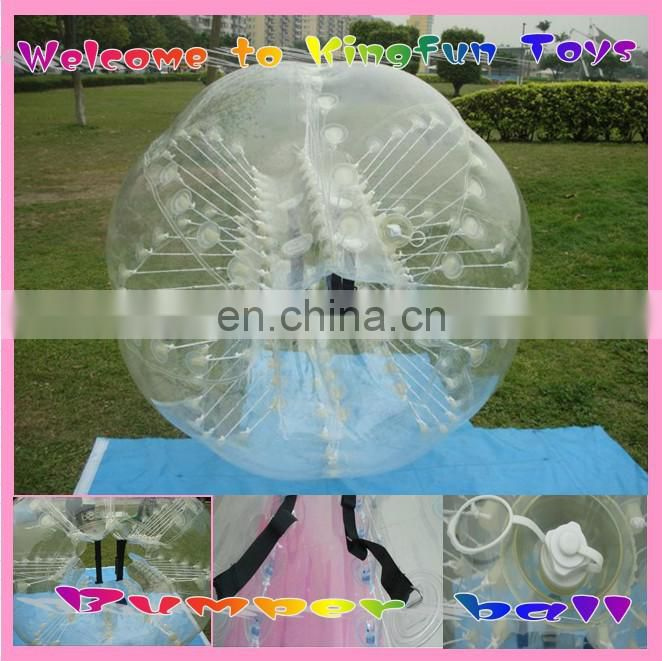 1.5m adults pvc/tpu inflatable Bubble soccer