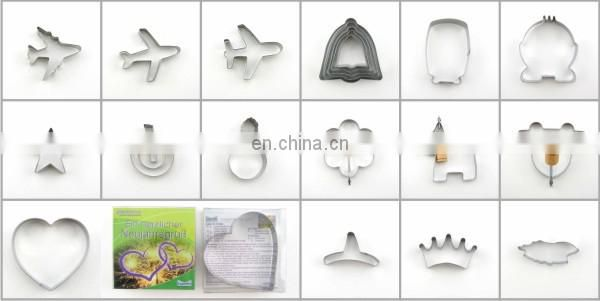 2015 new star shape good mini style biscuit cutter